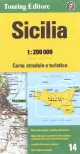 Cartina Autostradale Sicilia.Sicilia Carta Stradale Carta Stradale Mappa Geografica Pianta
