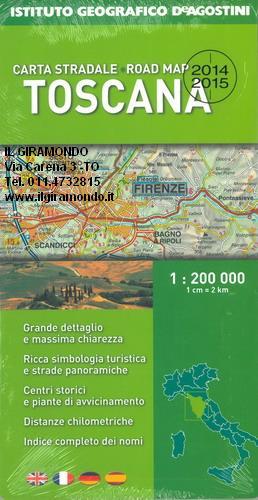 Stradale Cartina Geografica Toscana.Toscana Cartina Carta Stradale Mappa Geografica Pianta