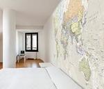 Carte geografiche carte murali planisferi planisfero for Parati plastificati