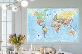 Cartina Mondo Ikea.Carte Geografiche Carte Murali Planisferi Planisfero Carte Scolastiche Il Giramondo