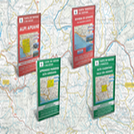 Carte da trekking multigraphic